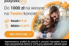Do 1000 zł za darmo od Pożyczka Plus