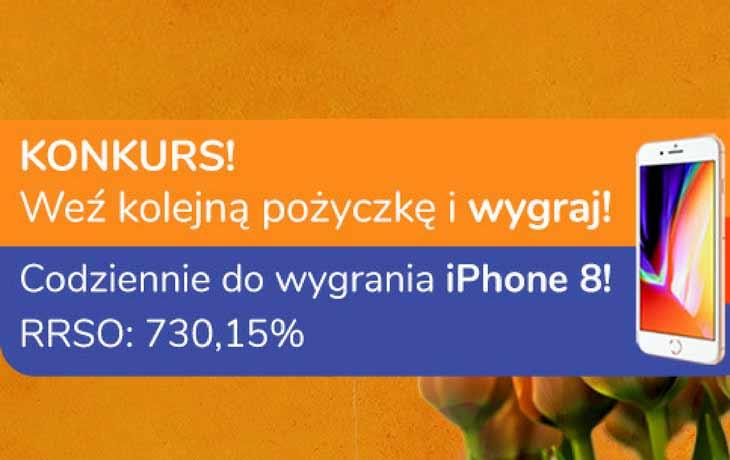 Wiosenny konkurs Kuki – wygraj iPhone 8