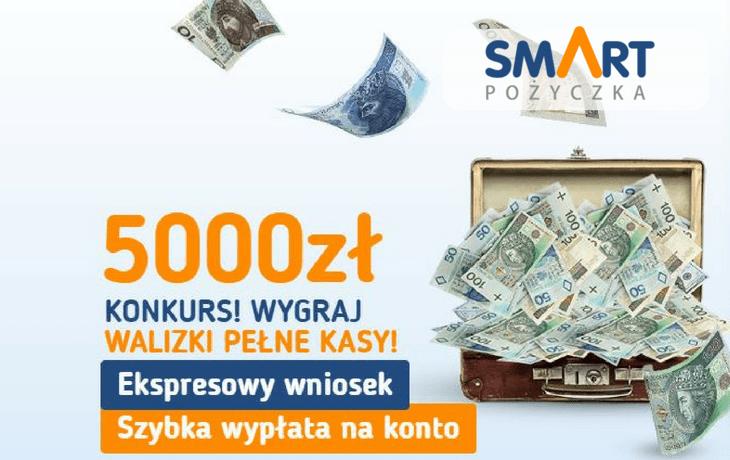 Smart Pożyczka – wygraj walizkę pełną kasy