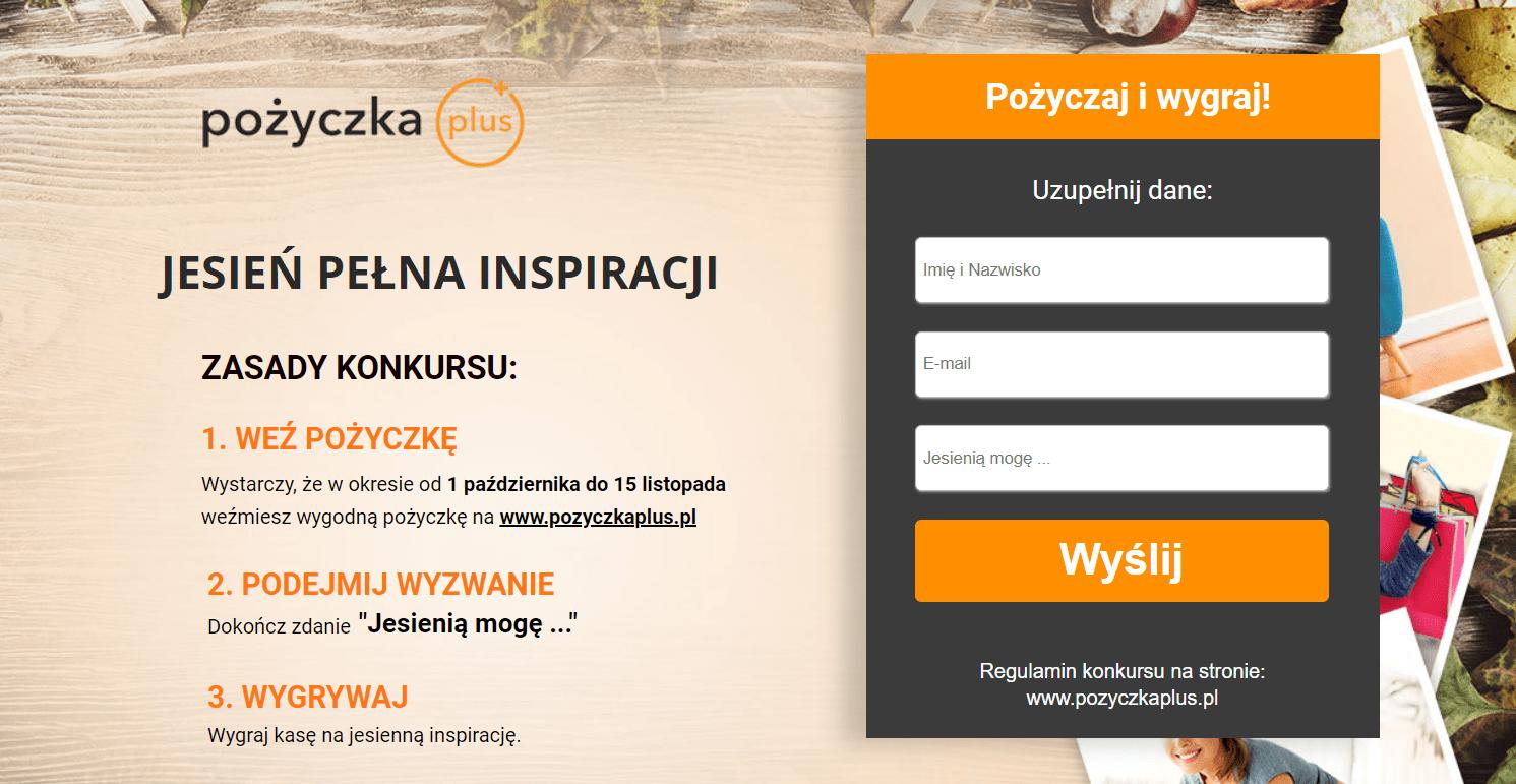 konkurs pozyczkaplus.pl