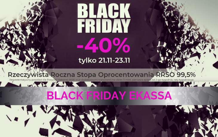 black friday w ekassa