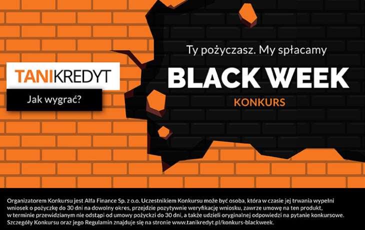 Konkurs TaniKredyt na Black Week!