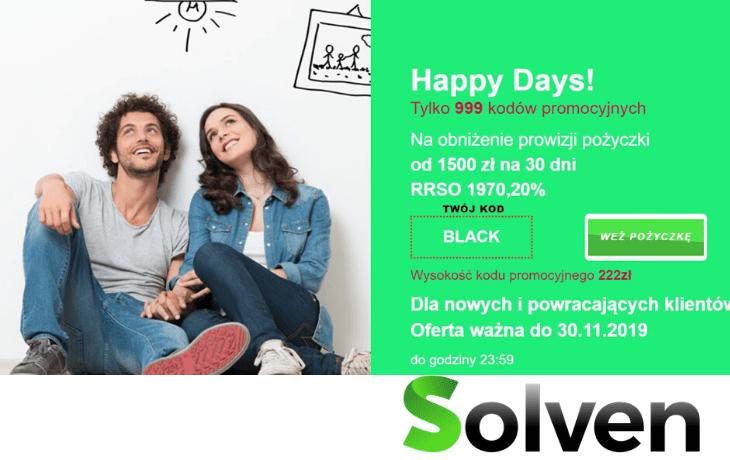 Rabat na pożyczki Solven!