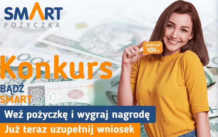 Promocja SmartPożyczka bon o wartości 100 zł na Allegro!