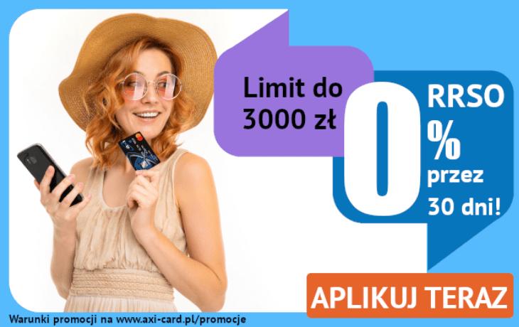 Promocja AXI Card: 30 dni za darmo!