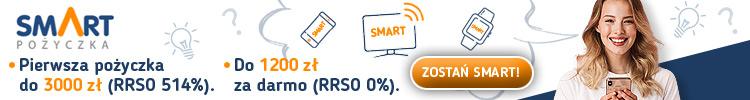 smartpożyczka baner pożyczkowy portal